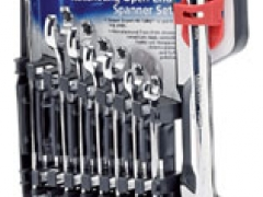 8PC OPEN END RATCH SPANNER SET