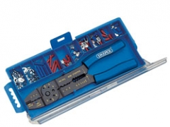 CRIMPING TOOL AND TERMINAL KIT