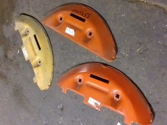 Outside Stone Guard For Kuhn FC250/300 Mower