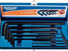 10-Piece Extra-Long Hex Key Set
