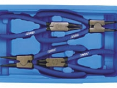 SET OF 4 CIRCLIP PLIERS.