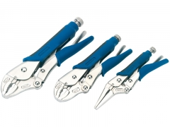 Soft Grip Self Grip Pliers Set (3 Piece)