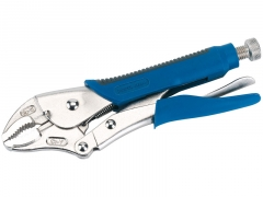 SOFT GRIP CURVED JAW SELF GRIP PLIERS (230MM)