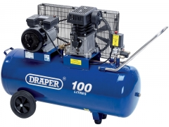 Draper  air compressor 100L 230V 3HP (2.2kW)