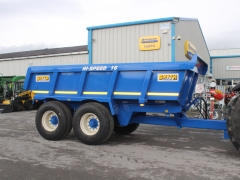 Smyth 16 ton dump trailer unused .