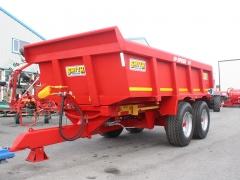 16 ton Smyth Dump trailer