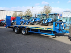 NC 16 ton tandem axle low loader.