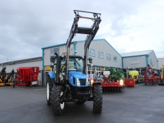 Newholland T6.120 + loader 2013