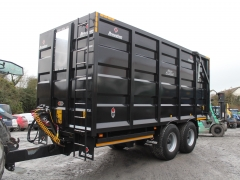 Broughan 20ft silage trailer 2018