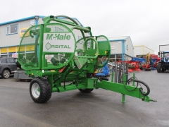 Mchale Orbital wrapper twin dispenser