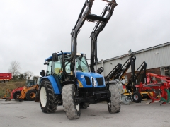 Newholland TL90A + loader 2008