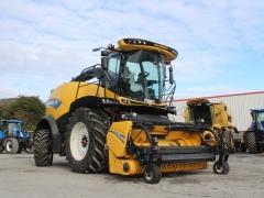 Newholland FR780 Harvester Demo