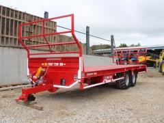 Hogg Engineering bale trailer 28ft unused