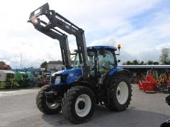 Newholland T6.140 152 + loader