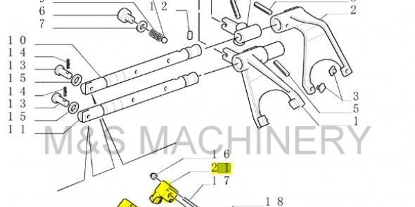 New Holland Potentiometer Part # 87605247