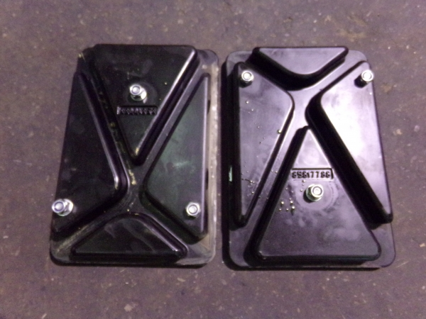Newholland B/LB/NH Series Backhoe street pads