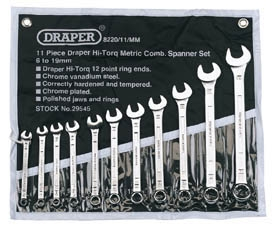 11PC COMBINATION SPANNER SETMM
