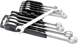 COMB.SPANNER SET-9 PC.METRIC