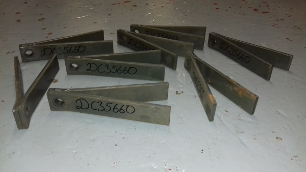 Conditioning Finger tines with bushing to suit John Deere Mower