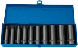 10PC DEEP IMPACT SOCKET SET