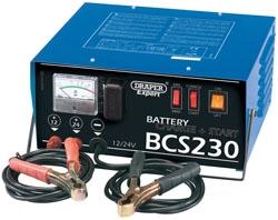 230V BATTERY STARTER/CHARGER