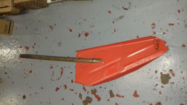 Kuhn Swarther handle and Swarther
