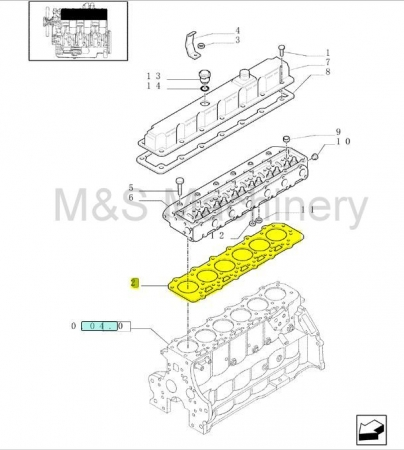 TM HEAD GASKET