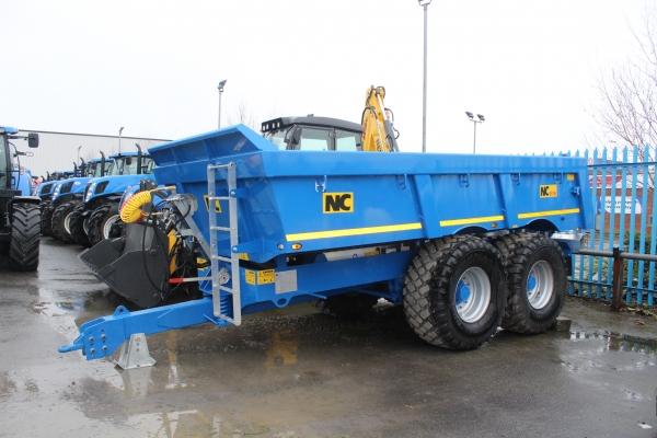 NC 616 Dumper/transport trailer