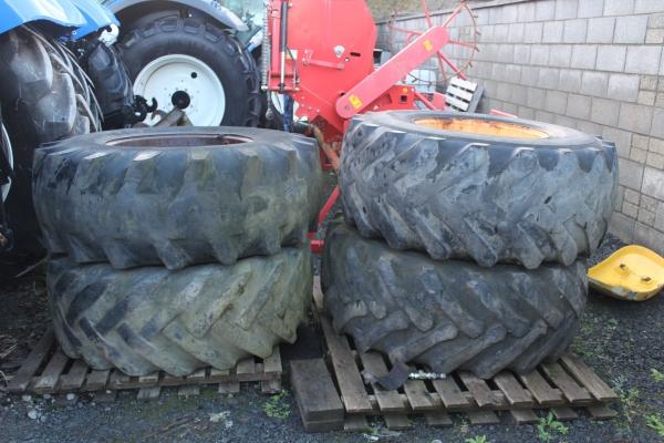 loader wheels 10 stud ZF AXLE