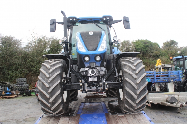 Newholland T7.175 50kph 2018