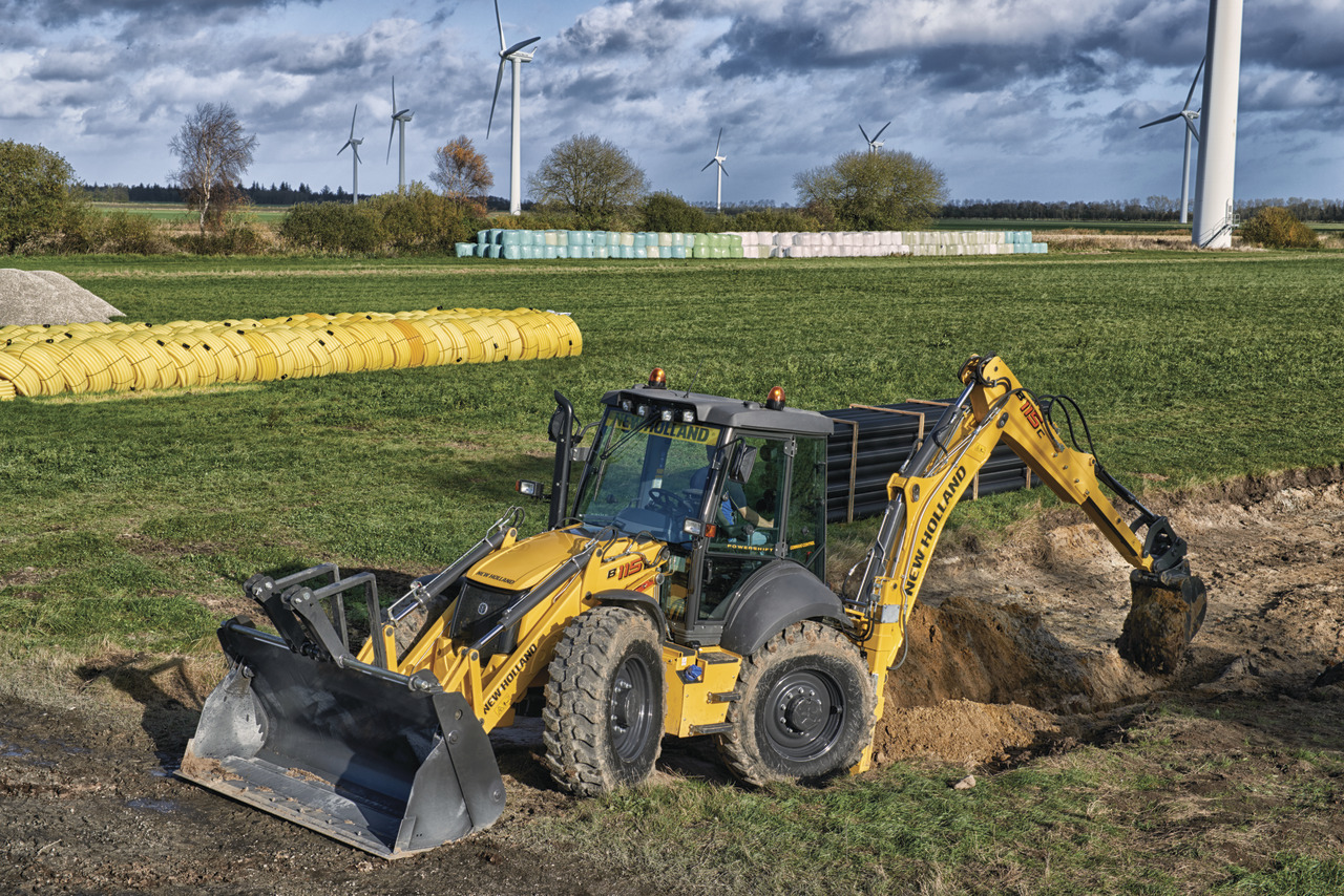 New Holland Backhoe Loaders Construction Machinery Back Hoes Loader Ireland New Holland Construction